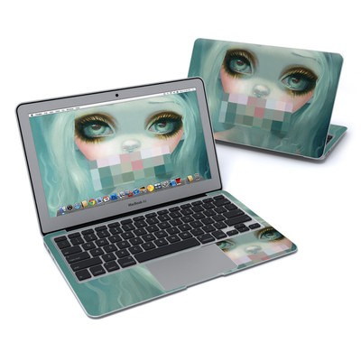 MacBook Air 11in Skin - Censored Smile