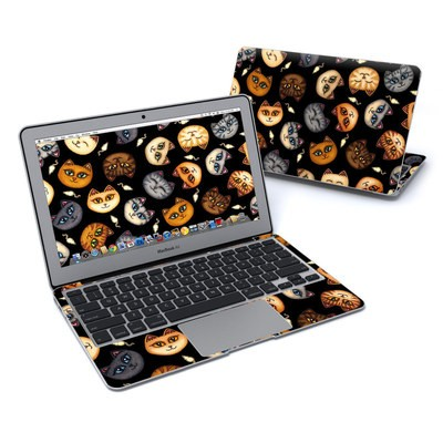 MacBook Air 11in Skin - Cat Faces