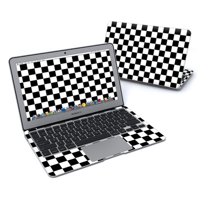 MacBook Air 11in Skin - Checkers