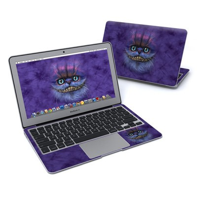 MacBook Air 11in Skin - Cheshire Grin