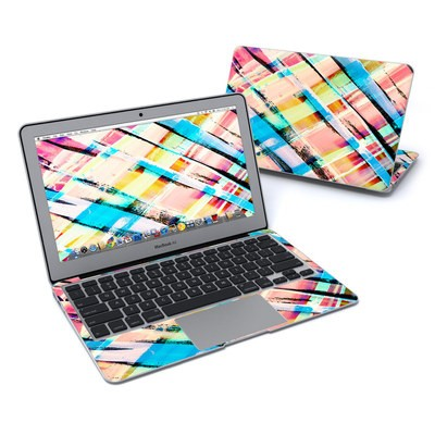 MacBook Air 11in Skin - Check Stripe