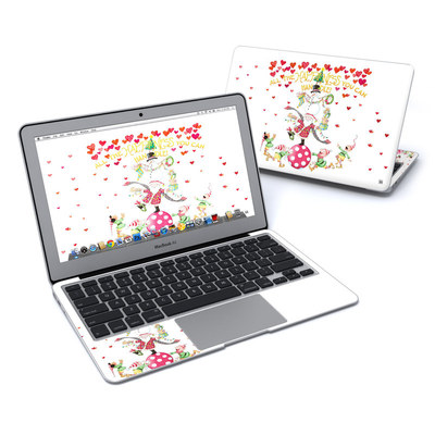 MacBook Air 11in Skin - Christmas Circus