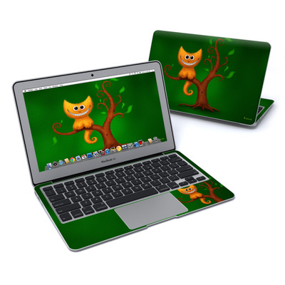 MacBook Air 11in Skin - Cheshire Kitten