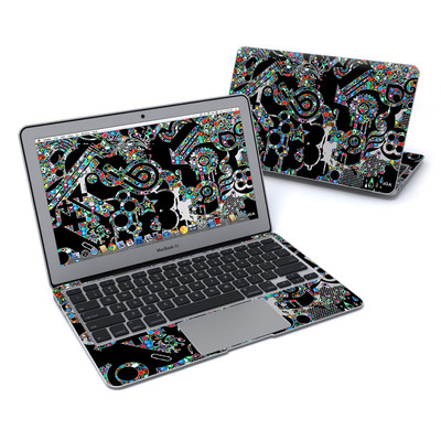 MacBook Air 11in Skin - Circle Madness