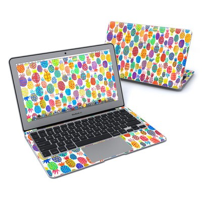 MacBook Air 11in Skin - Colorful Pineapples