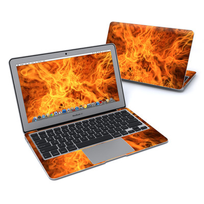 MacBook Air 11in Skin - Combustion
