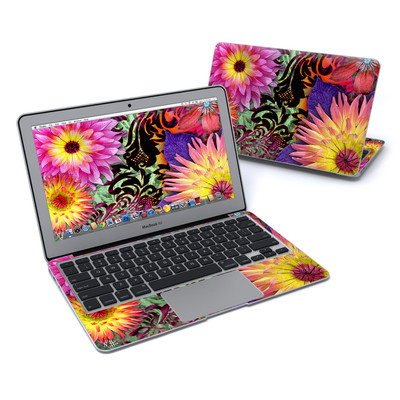 MacBook Air 11in Skin - Cosmic Damask