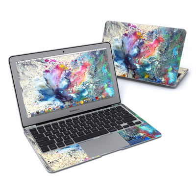 MacBook Air 11in Skin - Cosmic Flower
