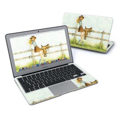 MacBook Air 11in Skin - Cowgirl Glam