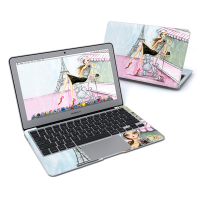 MacBook Air 11in Skin - Cafe Paris