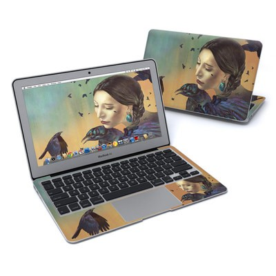 MacBook Air 11in Skin - Crow Maiden