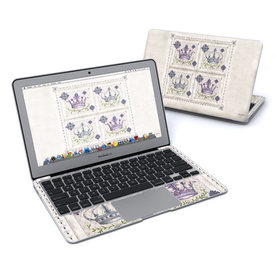 MacBook Air 11in Skin - Purple Crown