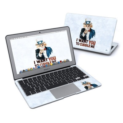 MacBook Air 11in Skin - Cuddle Me
