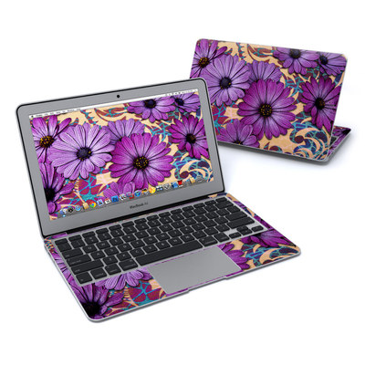 MacBook Air 11in Skin - Daisy Damask