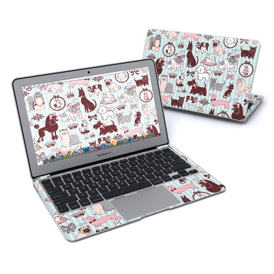 MacBook Air 11in Skin - Doggy Boudoir