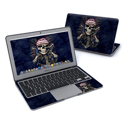 MacBook Air 11in Skin - Dead Anchor