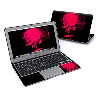 MacBook Air 11in Skin - Dead Rose