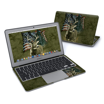 MacBook Air 11in Skin - Deer Flag