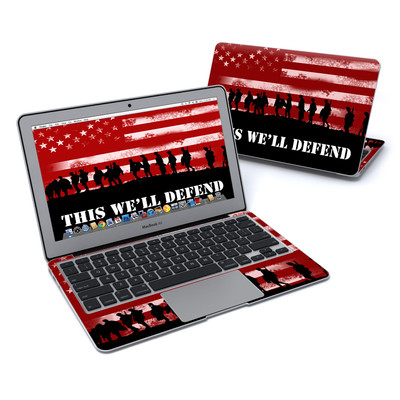 MacBook Air 11in Skin - Defend