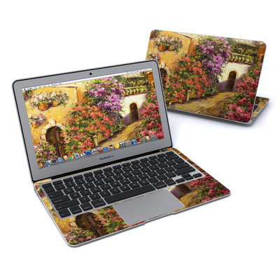 MacBook Air 11in Skin - Via Del Fiori