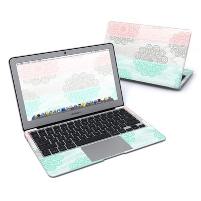 MacBook Air 11in Skin - Doily
