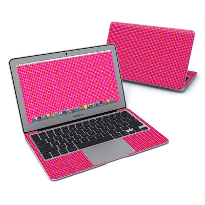 MacBook Air 11in Skin - Dots Pink