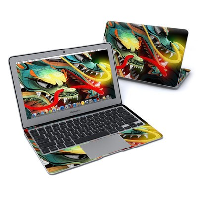 MacBook Air 11in Skin - Dragons