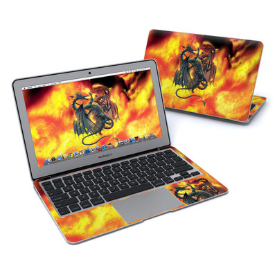 MacBook Air 11in Skin - Dragon Wars