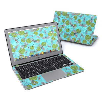 MacBook Air 11in Skin - Dragonflies Over Pond