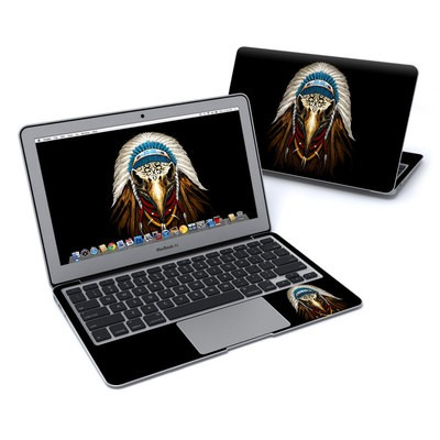 MacBook Air 11in Skin - Eagle Skull