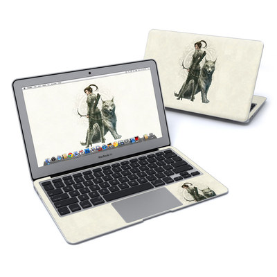 MacBook Air 11in Skin - Half Elf Girl