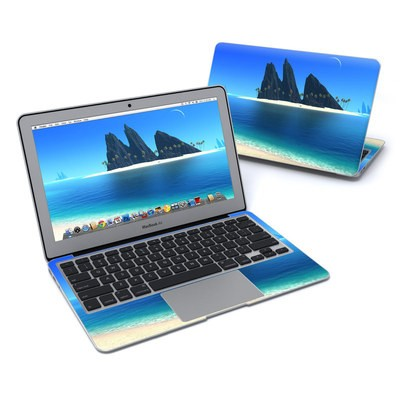 MacBook Air 11in Skin - Endless Blue