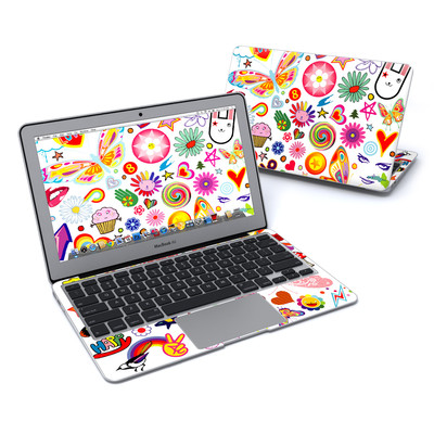 MacBook Air 11in Skin - Eye Candy