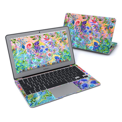 MacBook Air 11in Skin - Fantasy Garden