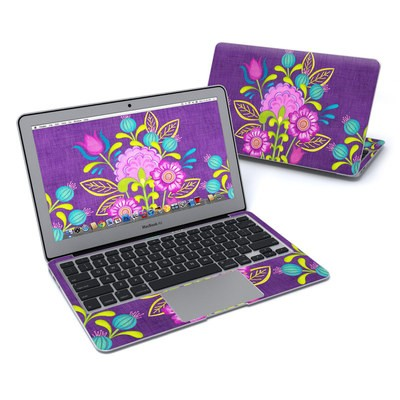 MacBook Air 11in Skin - Floral Bouquet