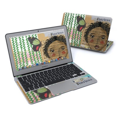 MacBook Air 11in Skin - Fearless Heart