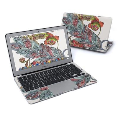 MacBook Air 11in Skin - Feather Flower