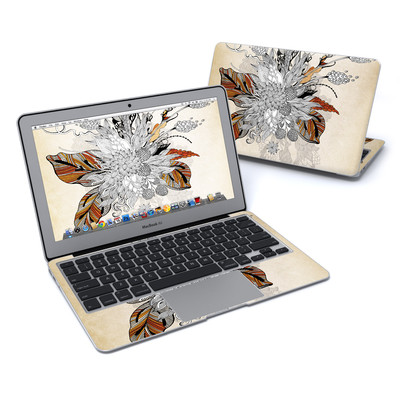 MacBook Air 11in Skin - Fall Floral