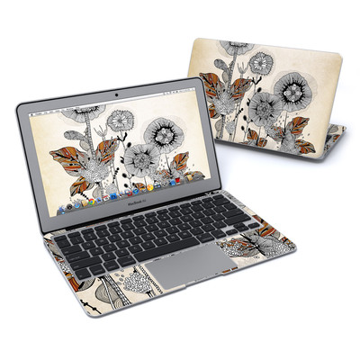 MacBook Air 11in Skin - Four Flowers