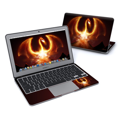 MacBook Air 11in Skin - Fire Dragon