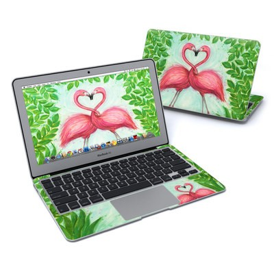 MacBook Air 11in Skin - Flamingo Love