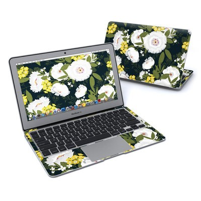 MacBook Air 11in Skin - Fleurette Night