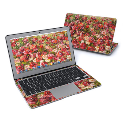 MacBook Air 11in Skin - Fleurs Sauvages