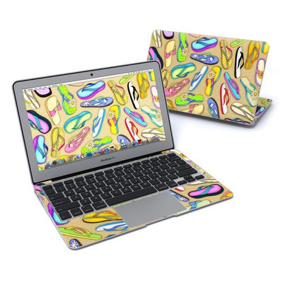 MacBook Air 11in Skin - Flip Flops