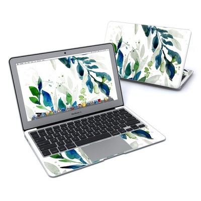 MacBook Air 11in Skin - Floating Leaves