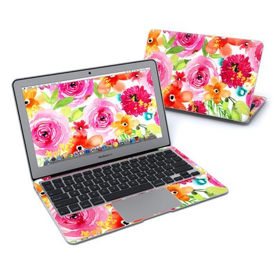 MacBook Air 11in Skin - Floral Pop