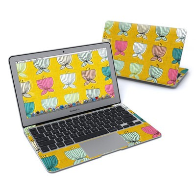 MacBook Air 11in Skin - Flower Cups