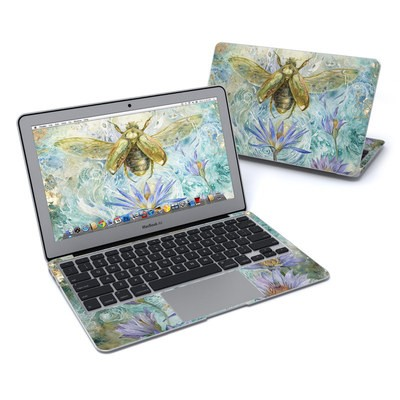 MacBook Air 11in Skin - When Flowers Dream