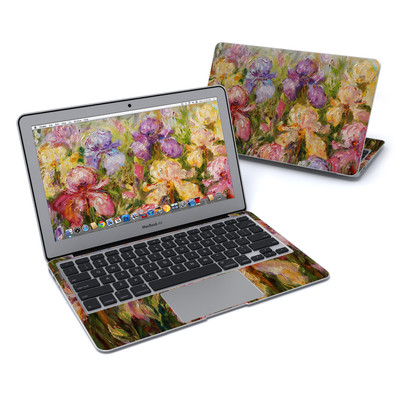 MacBook Air 11in Skin - Field Of Irises
