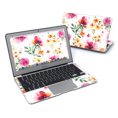 MacBook Air 11in Skin - Fresh Flowers